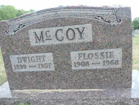 MCCOY, FLOSSIE - Pike County, Ohio | FLOSSIE MCCOY - Ohio Gravestone Photos
