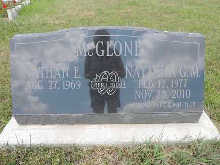MCGLONE, NATASHA G. M. - Pike County, Ohio | NATASHA G. M. MCGLONE - Ohio Gravestone Photos