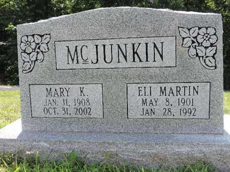 MCJUNKIN, ELI MARTIN - Pike County, Ohio | ELI MARTIN MCJUNKIN - Ohio Gravestone Photos