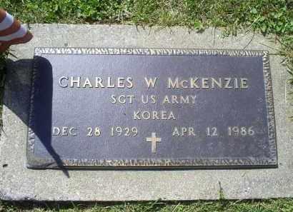 MCKENZIE, CHARLES W. - Pike County, Ohio   CHARLES W. MCKENZIE - Ohio Gravestone Photos
