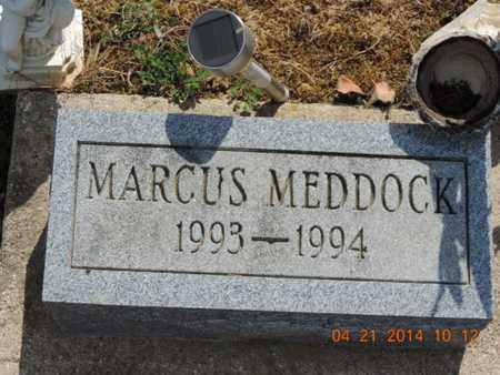 MEDDOCK, MARCUS - Pike County, Ohio   MARCUS MEDDOCK - Ohio Gravestone Photos