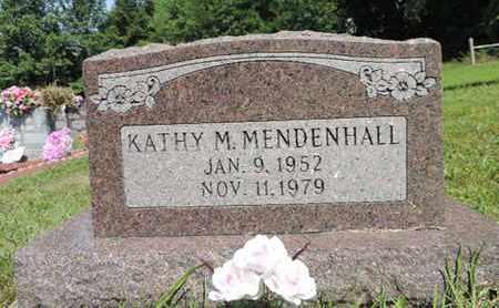 MENDENHALL, KATHY M. - Pike County, Ohio | KATHY M. MENDENHALL - Ohio Gravestone Photos
