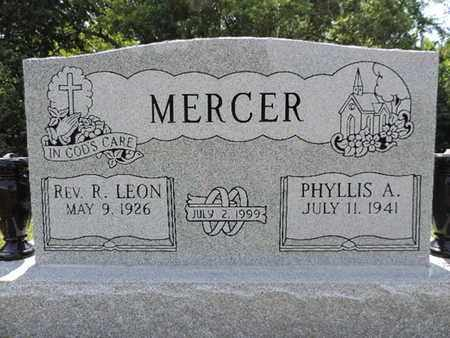 MERCER, PHYLLIS A. - Pike County, Ohio | PHYLLIS A. MERCER - Ohio Gravestone Photos