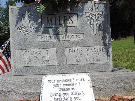 MILES, DORIS MAXINE - Pike County, Ohio | DORIS MAXINE MILES - Ohio Gravestone Photos
