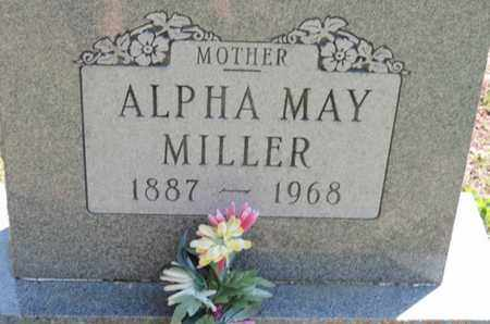 MILLER, ALPHA MAY - Pike County, Ohio | ALPHA MAY MILLER - Ohio Gravestone Photos