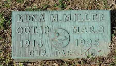 MILLER, EDNA M. - Pike County, Ohio   EDNA M. MILLER - Ohio Gravestone Photos