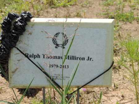 MILLIRON, RALPH THOMAS - Pike County, Ohio | RALPH THOMAS MILLIRON - Ohio Gravestone Photos