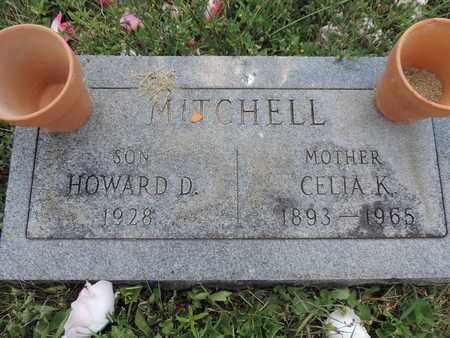 MITCHELL, HOWARD D. - Pike County, Ohio   HOWARD D. MITCHELL - Ohio Gravestone Photos