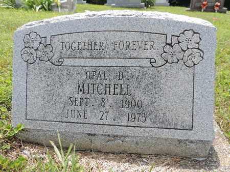 MITCHELL, OPAL D. - Pike County, Ohio | OPAL D. MITCHELL - Ohio Gravestone Photos