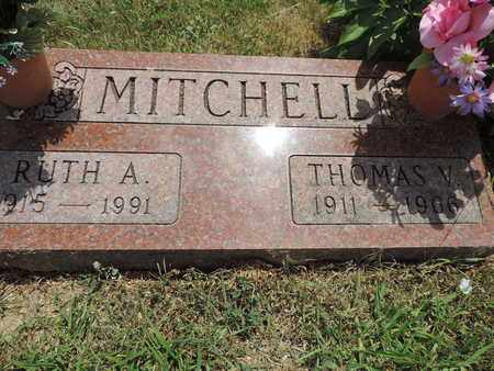 MITCHELL, THOMAS V. - Pike County, Ohio | THOMAS V. MITCHELL - Ohio Gravestone Photos