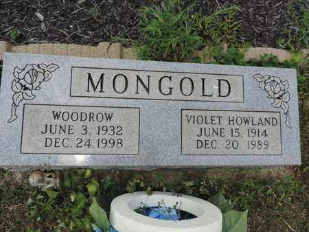 MONGOLD, WOODROW - Pike County, Ohio | WOODROW MONGOLD - Ohio Gravestone Photos