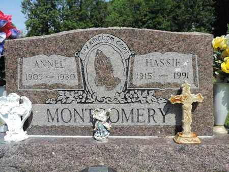 MONTGOMERY, HASSIE - Pike County, Ohio | HASSIE MONTGOMERY - Ohio Gravestone Photos