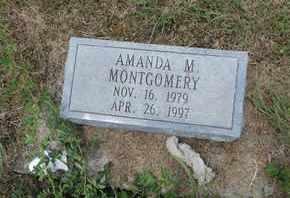 MONTGOMERY, AMANDA M. - Pike County, Ohio | AMANDA M. MONTGOMERY - Ohio Gravestone Photos