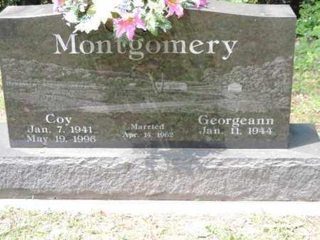 MONTGOMERY, GEORGEANN - Pike County, Ohio | GEORGEANN MONTGOMERY - Ohio Gravestone Photos