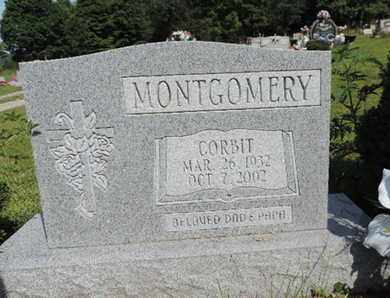 MONTGOMERY, CORBIT - Pike County, Ohio | CORBIT MONTGOMERY - Ohio Gravestone Photos