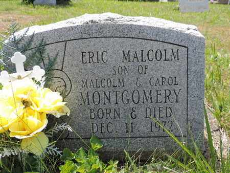 MONTGOMERY, ERIC MALCOLM - Pike County, Ohio | ERIC MALCOLM MONTGOMERY - Ohio Gravestone Photos