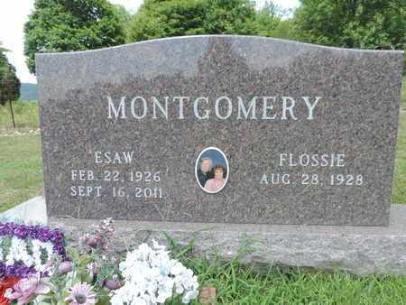 MONTGOMERY, FLOSSIE - Pike County, Ohio | FLOSSIE MONTGOMERY - Ohio Gravestone Photos
