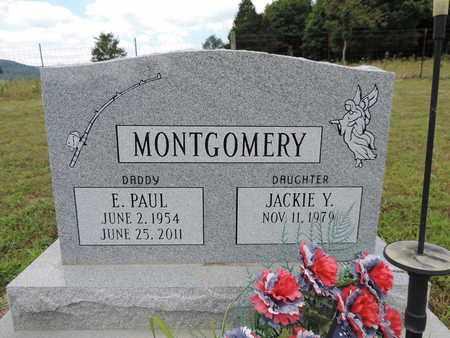 MONTGOMERY, E. PAUL - Pike County, Ohio | E. PAUL MONTGOMERY - Ohio Gravestone Photos