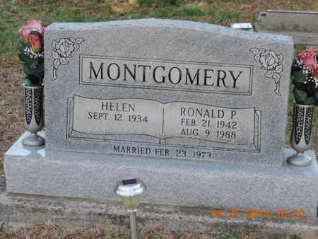 MONTGOMERY, HELEN - Pike County, Ohio | HELEN MONTGOMERY - Ohio Gravestone Photos