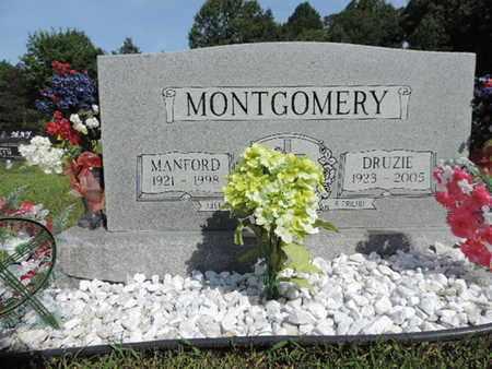 MONTGOMERY, DRUZIE - Pike County, Ohio | DRUZIE MONTGOMERY - Ohio Gravestone Photos