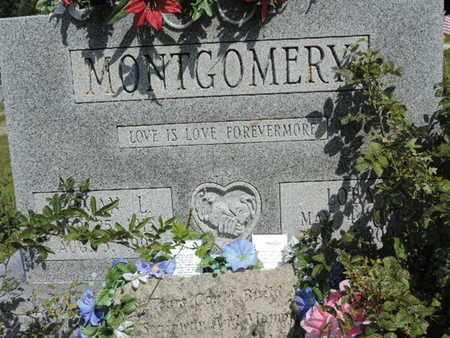 MONTGOMERY, LOLA - Pike County, Ohio | LOLA MONTGOMERY - Ohio Gravestone Photos