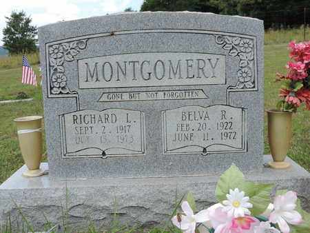 MONTGOMERY, BELVA R. - Pike County, Ohio   BELVA R. MONTGOMERY - Ohio Gravestone Photos