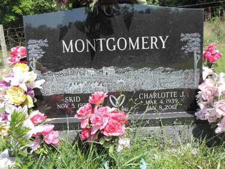 MONTGOMERY, SKID - Pike County, Ohio | SKID MONTGOMERY - Ohio Gravestone Photos