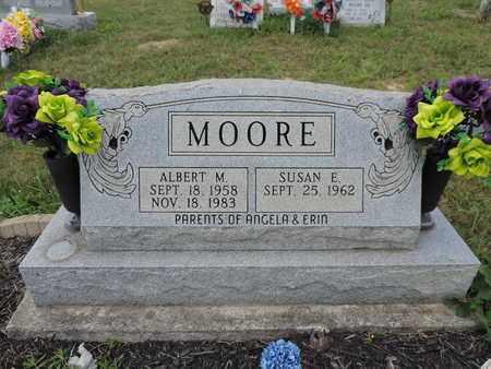 MOORE, SUSAN E. - Pike County, Ohio | SUSAN E. MOORE - Ohio Gravestone Photos