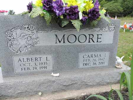 MOORE, CARMA J. - Pike County, Ohio | CARMA J. MOORE - Ohio Gravestone Photos