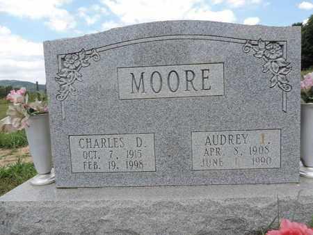 MOORE, CHARLES D. - Pike County, Ohio | CHARLES D. MOORE - Ohio Gravestone Photos