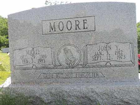 MOORE, MARIE - Pike County, Ohio | MARIE MOORE - Ohio Gravestone Photos