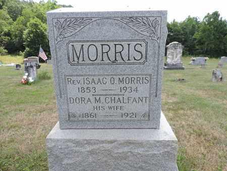 MORRIS, ISAAC O. - Pike County, Ohio | ISAAC O. MORRIS - Ohio Gravestone Photos