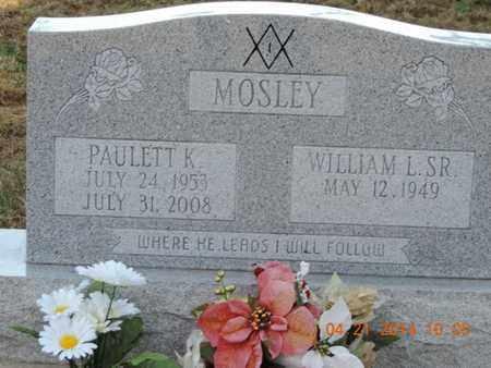 MOSLEY, PAULETT - Pike County, Ohio | PAULETT MOSLEY - Ohio Gravestone Photos
