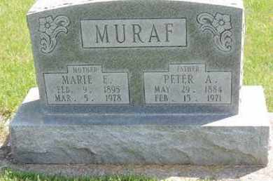 MURAF, PETER A. - Pike County, Ohio | PETER A. MURAF - Ohio Gravestone Photos