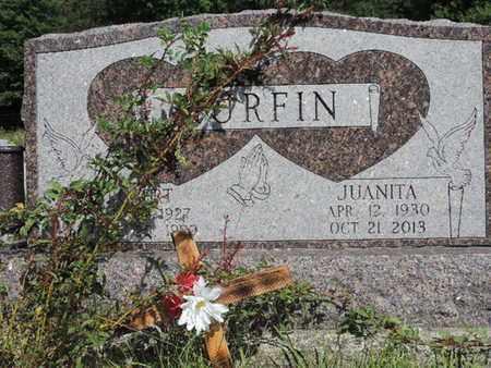 MURFIN, JUANITA - Pike County, Ohio   JUANITA MURFIN - Ohio Gravestone Photos