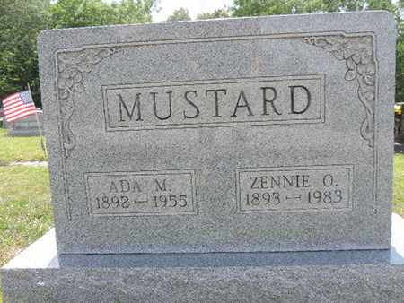 MUSTARD, ADA M. - Pike County, Ohio | ADA M. MUSTARD - Ohio Gravestone Photos