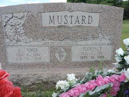 MUSTARD, A. OWEN - Pike County, Ohio | A. OWEN MUSTARD - Ohio Gravestone Photos