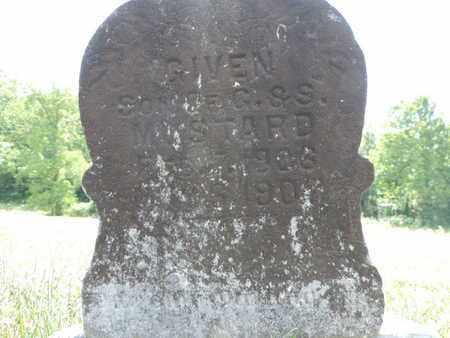 MUSTARD, GIVEN - Pike County, Ohio   GIVEN MUSTARD - Ohio Gravestone Photos