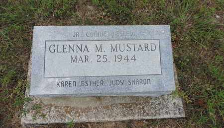 MUSTARD, GLENNA M. - Pike County, Ohio | GLENNA M. MUSTARD - Ohio Gravestone Photos