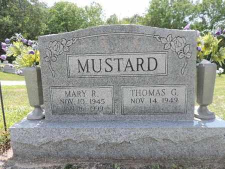 MUSTARD, THOMAS G. - Pike County, Ohio | THOMAS G. MUSTARD - Ohio Gravestone Photos
