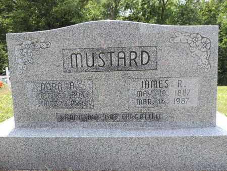 MUSTARD, NORA A. - Pike County, Ohio | NORA A. MUSTARD - Ohio Gravestone Photos