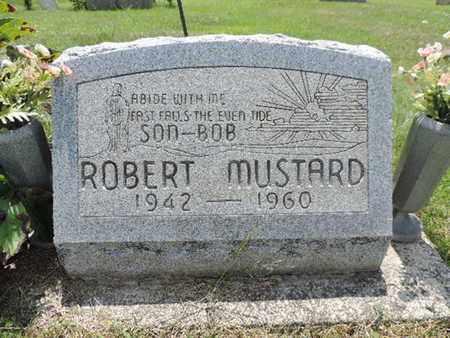 MUSTARD, ROBERT - Pike County, Ohio | ROBERT MUSTARD - Ohio Gravestone Photos