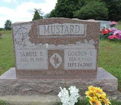 MUSTARD, GORDON  E. - Pike County, Ohio | GORDON  E. MUSTARD - Ohio Gravestone Photos