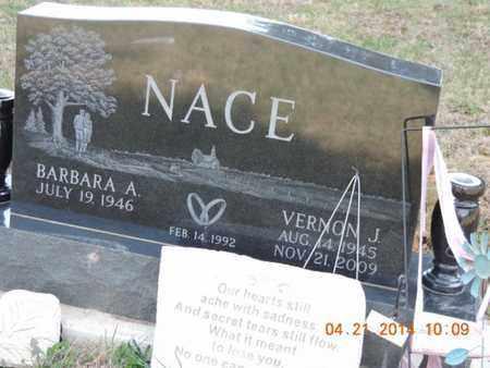 NACE, VERNON J - Pike County, Ohio | VERNON J NACE - Ohio Gravestone Photos