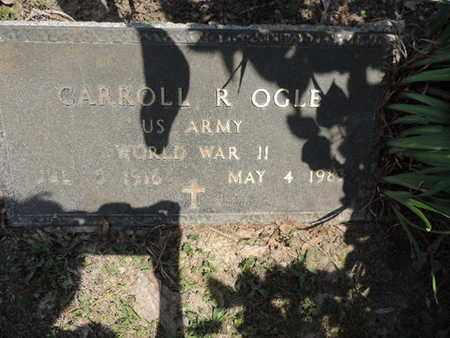 OGLE, CARROLL R. - Pike County, Ohio | CARROLL R. OGLE - Ohio Gravestone Photos