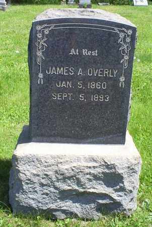 OVERLY, JAMES A. - Pike County, Ohio   JAMES A. OVERLY - Ohio Gravestone Photos