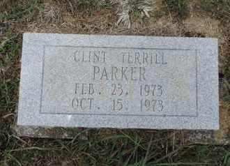 PARKER, CLINT TERRILL - Pike County, Ohio   CLINT TERRILL PARKER - Ohio Gravestone Photos