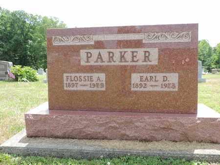 PARKER, EARL D. - Pike County, Ohio | EARL D. PARKER - Ohio Gravestone Photos