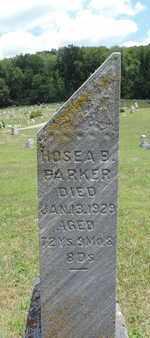 PARKER, HOSEA B - Pike County, Ohio   HOSEA B PARKER - Ohio Gravestone Photos