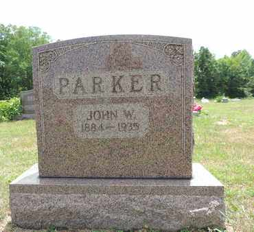 PARKER, JOHN W. - Pike County, Ohio | JOHN W. PARKER - Ohio Gravestone Photos